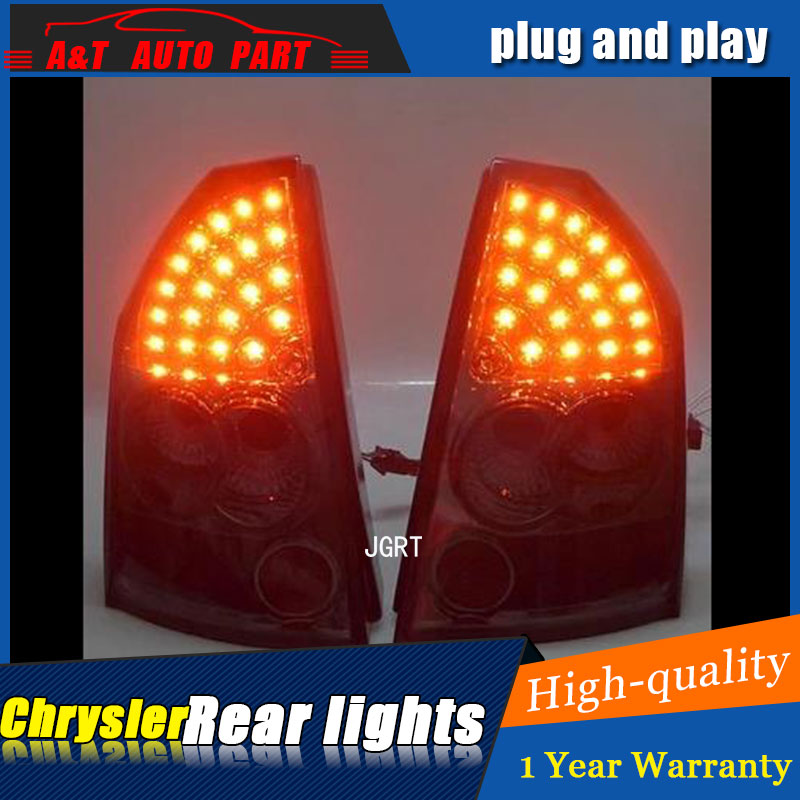 Car styling Accessories for Chrysler 300C rear Lights led TailLight 05-08 for 300c Rear Lamp DRL+Brake+Park+Signal lights led car styling accessories for bmw e90 rear lights 2005 2008 led taillight for e90 rear lamp drl brake park signal lights led