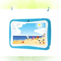 BDF New Design 8 GB Android 4 4 7 Inch Kids Tablets Pc WiFi Quad Core
