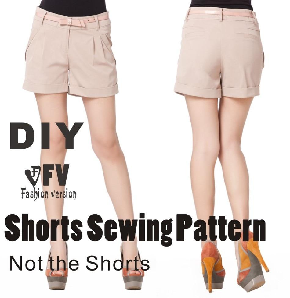 ツ)_/¯Pantalones patrón de costura del patrón de Los pantalones (No ...
