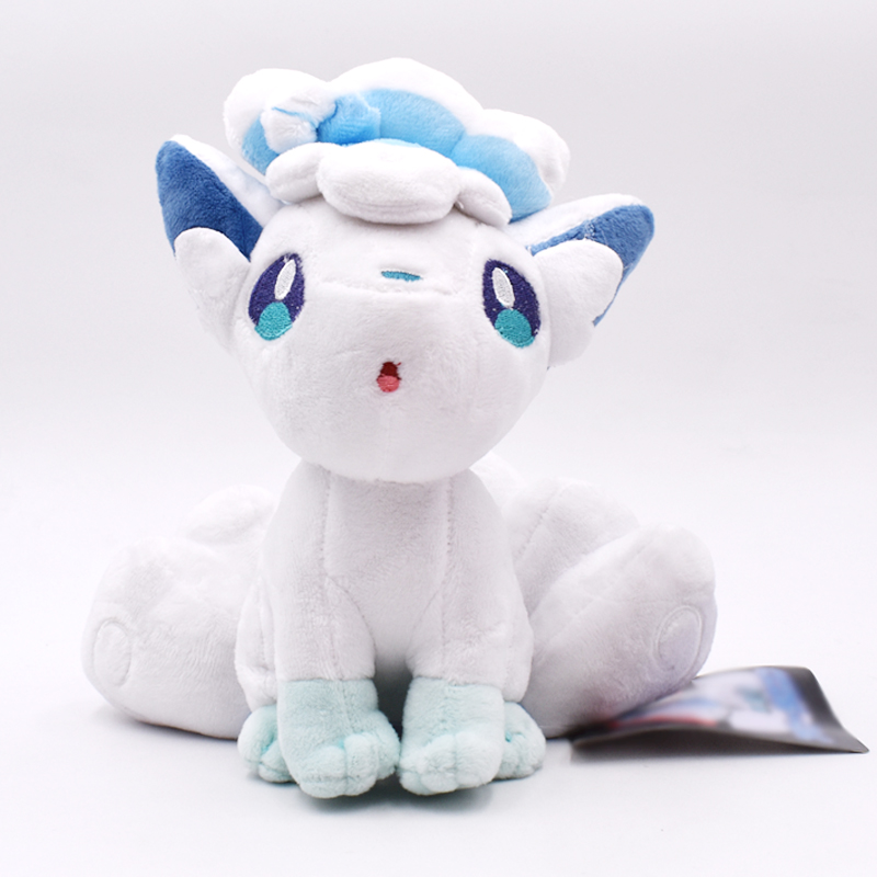 21cm Alola Vulpix PP Cotton Carton Plush Toys Pikachu Peluche Dolls  Gifts For Children Kids Free Shipping