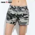 High Quality Casual Womens Shorts Summer Camo Shorts Women Brand Cotton Camouflage Shorts For Woman Gk-9326B