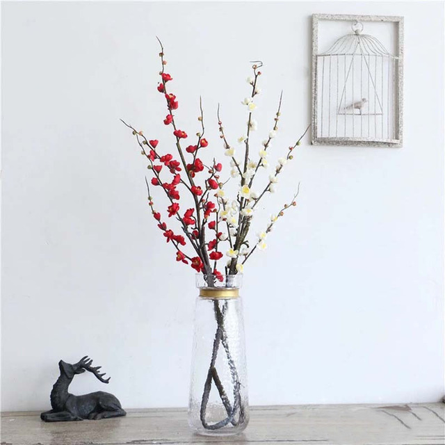 Large Artificial Flowers Cherry Blossoms Branch Flores Sakura Tree ...