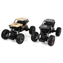 NEW kids RC car toy Q50 2.4G 1:18 4WD driving system alloy car body All-Terrain violence rock crambing truck model toy vs a959