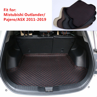 5 Colors New Car Rear Trunk Mat For Mistubishi ASX Pajero Outlander 2013 2014 2019 Cargo Tray Boot Liner Carpet