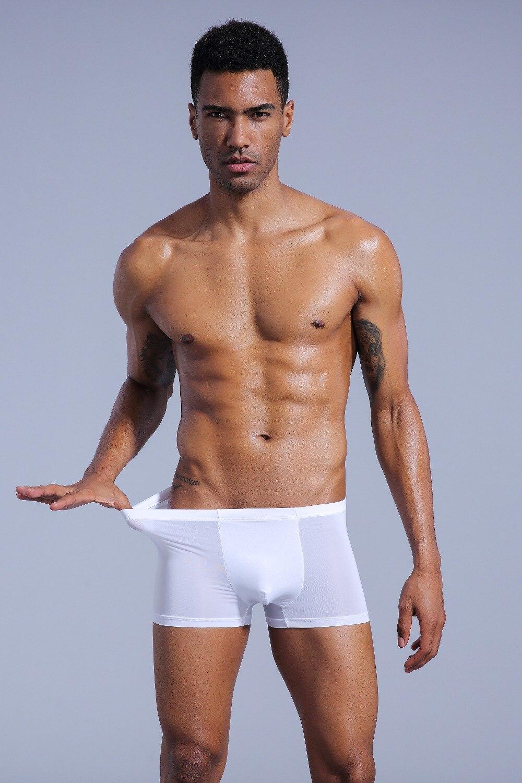 Sexy male silk underwear