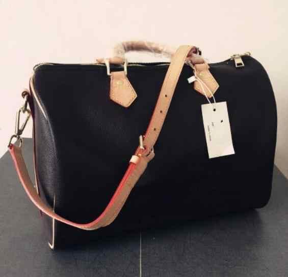 a9173bfff89 koraba Famous Design Brand Logo Hot selling fashion women Genuine Leather  handbags AAA quality speedy bag