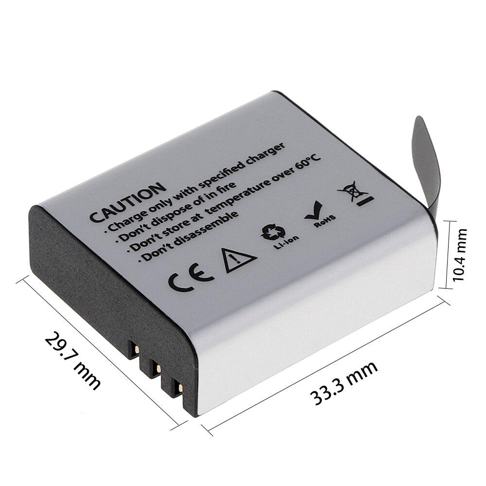 3.7V 1350mAh High Capacity Li-ion Rechargeable Battery for SJ4000 / SJ5000 / SJ6000 / SJ7000 / SJ8000 / SJ9000 Camera