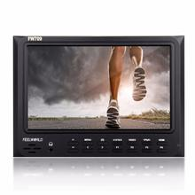 Feelworld FW-709 FW709 7″ IPS HD On-Camera Field Monitor 1024×600 Support GH4 A7R II A7R A7S 5D mark II III 7D D800  D810
