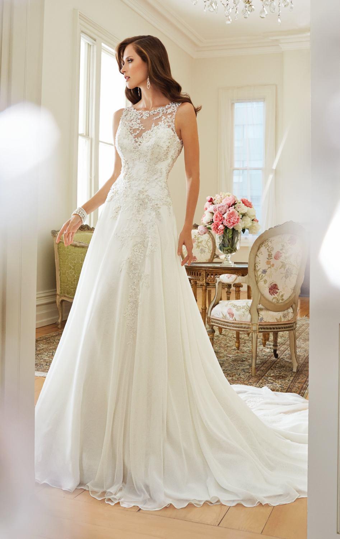 A Line Style Wedding Dresses