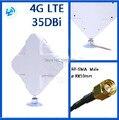4 Г антенна 2 * SMA разъем для HUAWEI ZTE 4G Маршрутизатор/Модем антенны ДБ бесплатная доставка