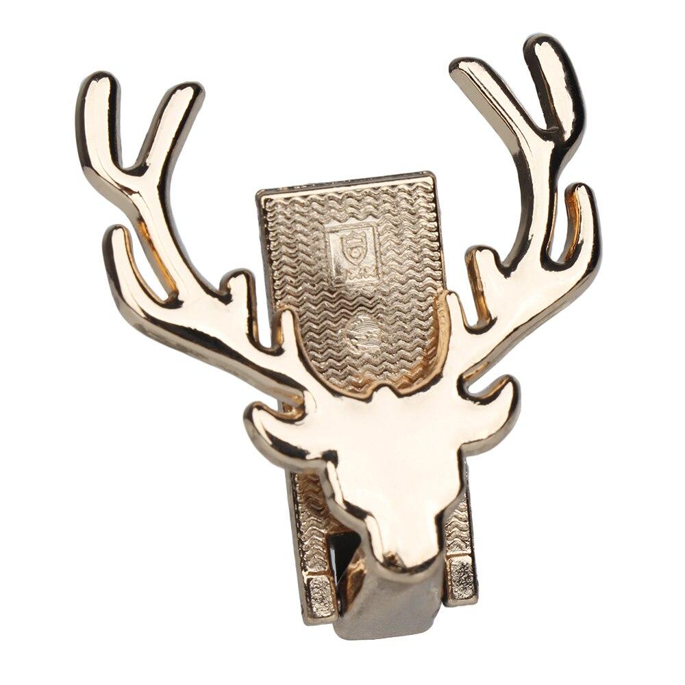 Bag Accessories Deer Design Metal Decoration DIY Turn Lock Handbag Craft Shoulder Bag Hardware Part