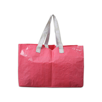 Giant Plastic PP Woven Shopping Bag With Durable Handles Available For Custom