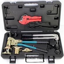 Manuale Assiale Presse Tool Kit Pex Tubo di Piegatura Strumento PEX 1632 16 32mm Rehau Acqua e Gas con Reflex com Presse agli ioni di