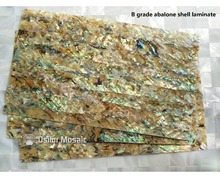 B grade natural surface abalone paua shell laminate for musical instrument and furniture inlay