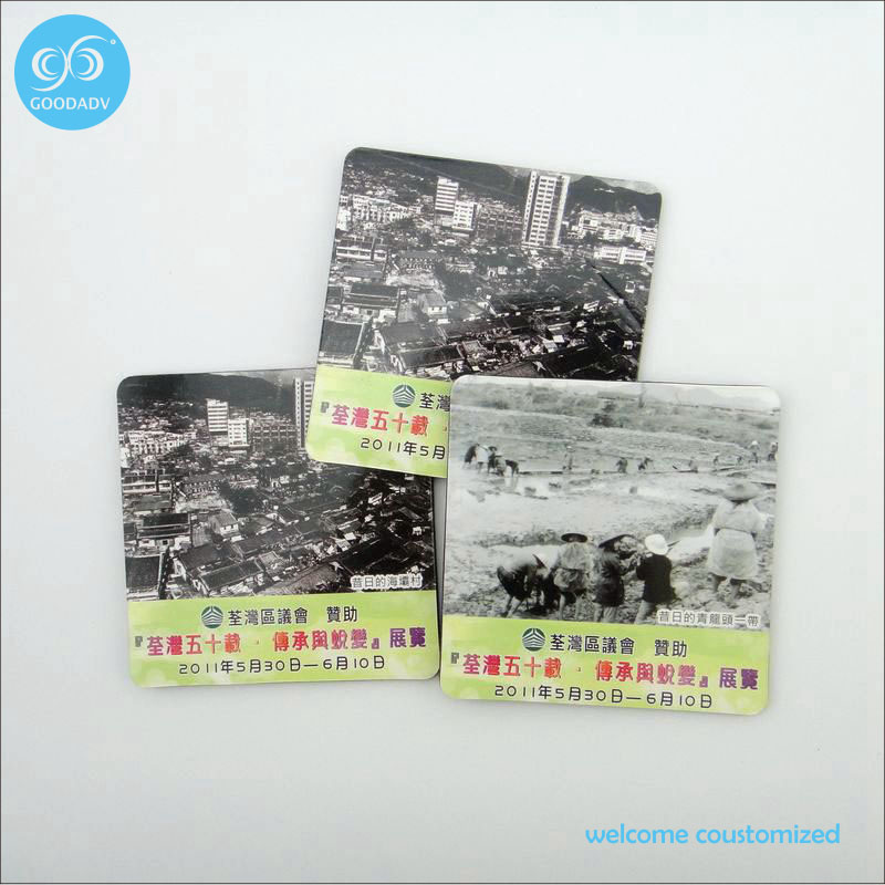New Stylish Top Quality business gift coaster concise practical advertising gift eva cool coasters free shipping