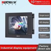 MEKT Brand new waterproof touch screen monitor 6/6.4 inch touch screen monitor Industrial touch screen display DVI USB