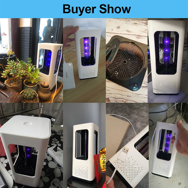 Led lamp to kill mosquitoes Electric insect repellent