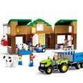 Sluban 512 unids granjas de vacas de Alta calidad kits de edificio modelo 3D niños educación temprana juguetes del bloque