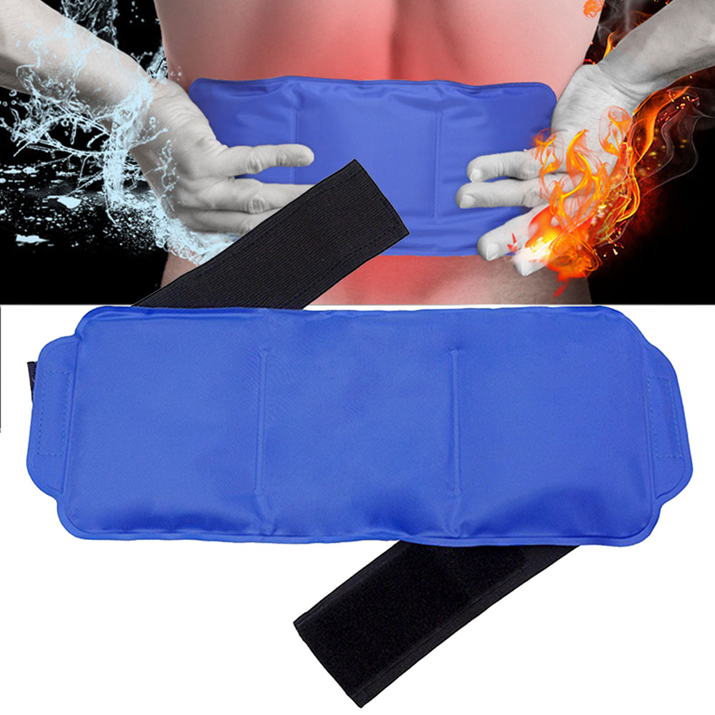 Knee Gel Wrap Elastic Hot And Cold Body Ice Pack Set Soft Portable Multiple-use Reusable Wrist Pain Relief With Strap Shoulder