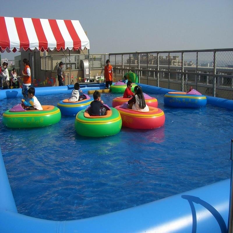 bazen na napuhavanje otvoreni bazen velikog tipa veličine 8 * 8 * 06 M vodeni park može napuhati bazen ljeto cool