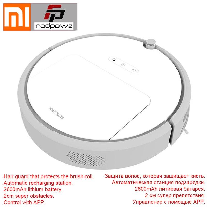 2018 nouveau Xiaomi Xiaowa Robot aspirateur Version jeunesse 1600 Pa aspiration adaptative algorithme stochastique 640 ml bac à poussière 2600 mAh