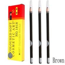 3pcs Brown Eyebrow Pencil For Eyebrow Permanent Makeup Tattoo Beauty Makeup Tools Stereotypes Pen Eyebrow Pencil