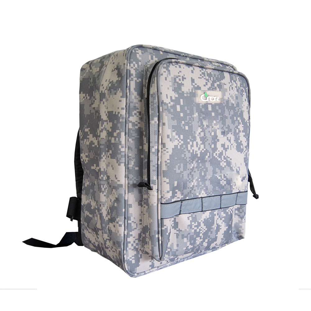 Convenient First Aid Kit Dual Shoulder Pack For Disaster Prevention Mitigation Emergency Rescue (Hard Pack)