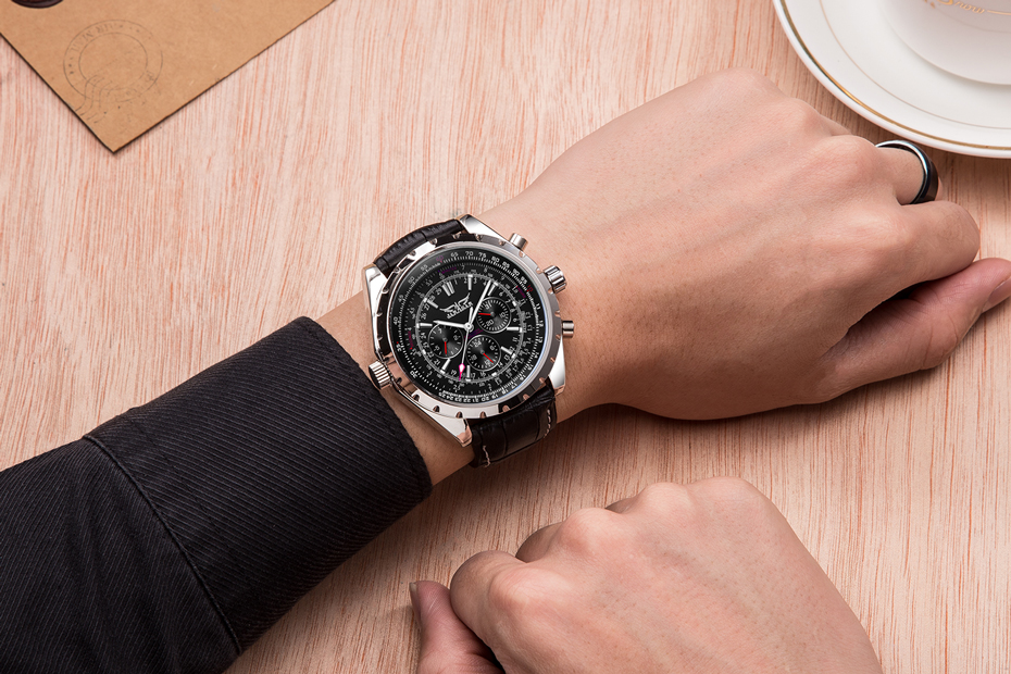 HTB1WYb8ouuSBuNjy1Xcq6AYjFXae JARAGAR Top Luxury Brand Men Watch Mens Fashion Mechanical Watches Man Casual Business Waterproof Wristwatch Relogio Masculino