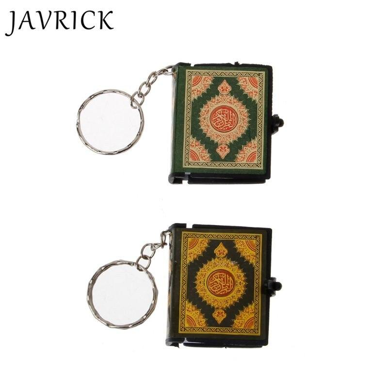 Mini Ark Quran Book Real Paper Can Read Arabic The Koran Keychain Muslim Jewelry