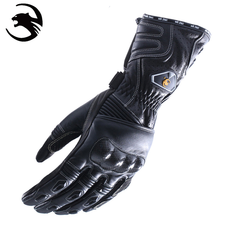ФОТО XUEYU Motorcycle Leather Gloves Summer Winter Full Finger Motorcycle Gear Gloves Guantes Moto Gloves For Motorcycle