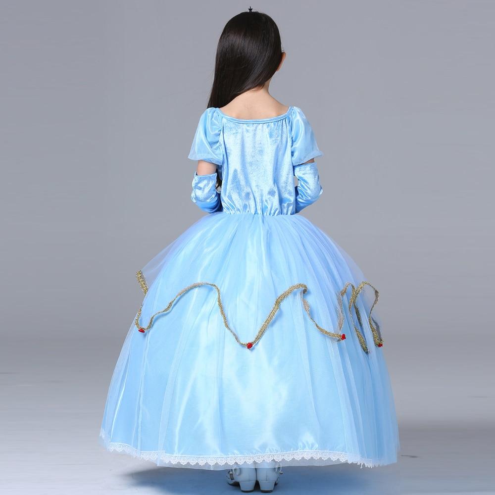Halloween costume for kids princess Sofia dress for girls Evening ...