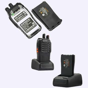 6pcs NEW Portable Walkie Talkie Two Way Radios UHF Ham Radio HF Transceiver Baofeng 888 For CB Radio Station Baofeng Bf-888s