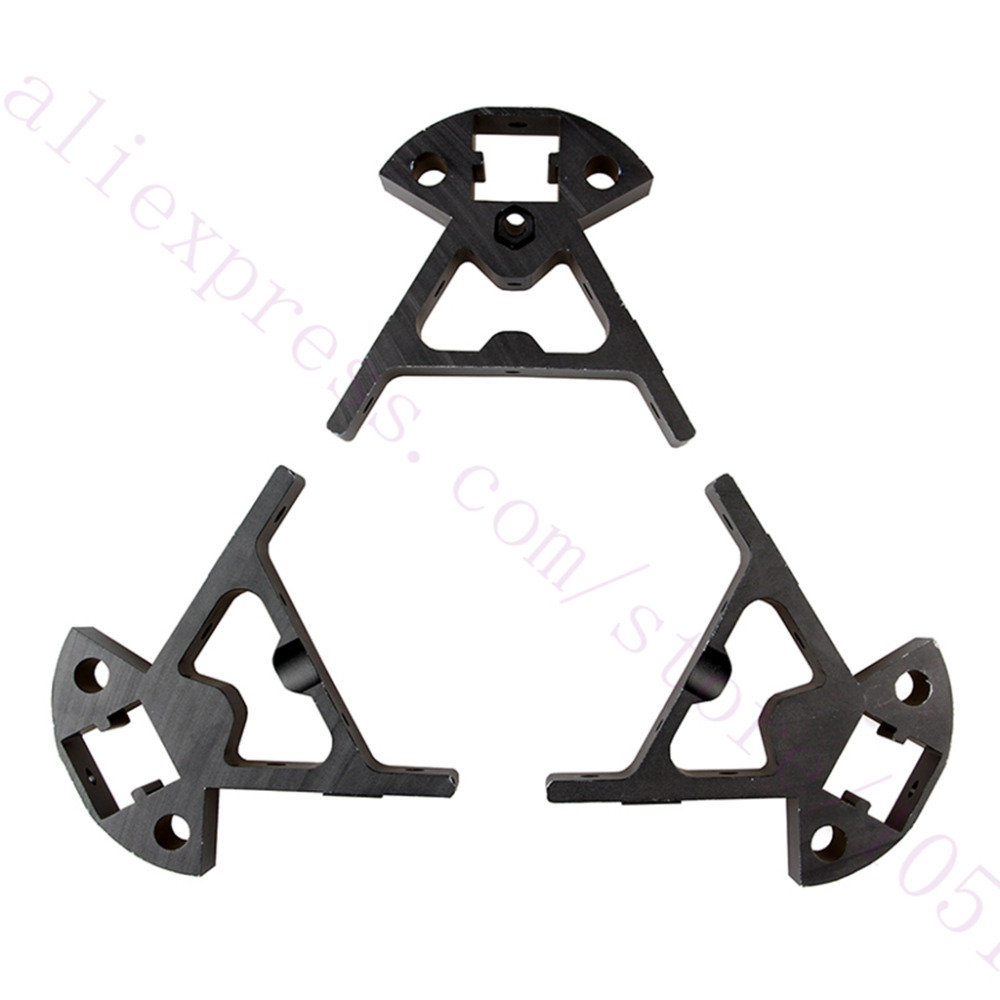 1 Set Delta 3D Printer Kossel Mini K800 Aluminum Alloy Mount Frame ...