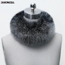 Зимний Теплый женский модный шарф из искусственного лисьего меха, шаль, шаль, меховая накидка на шею, 10 цветов