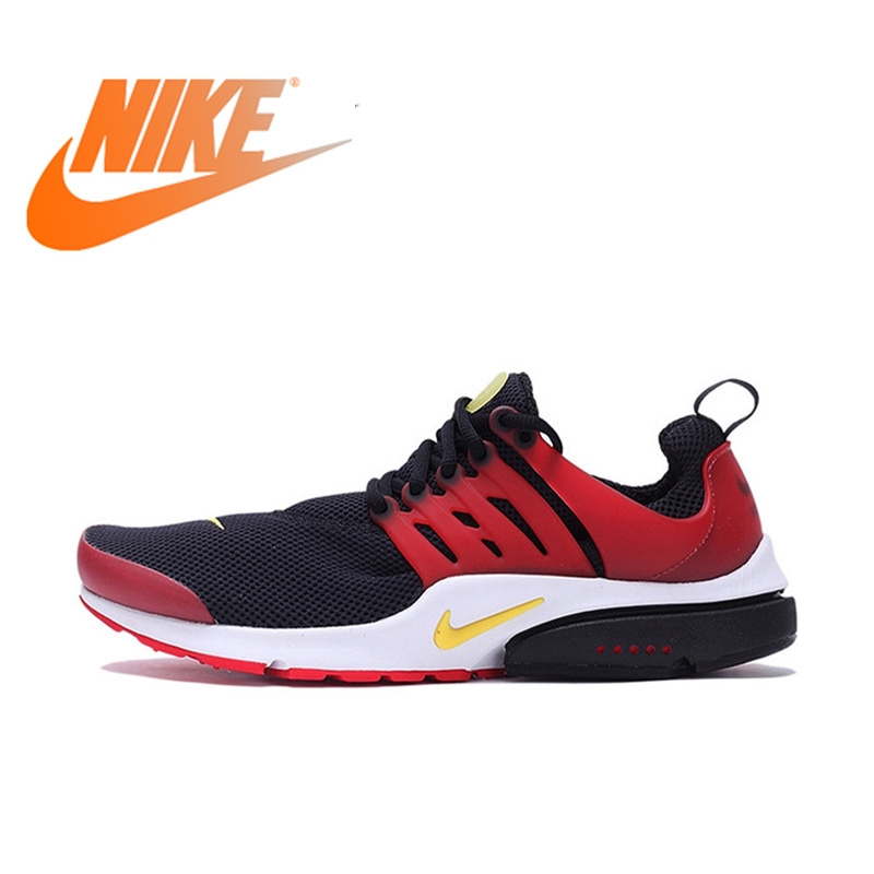 5f982b2465a Original Authentic Nike Fall AIR PRESTO Men's Breathable Running Shoes  Sport Sneakers Outdoor Designer Athletic Low ...