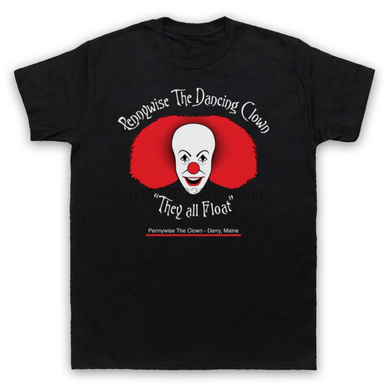 Men's Clothing It Pennywise The Dancing Clown Unking T-shirt Mens Ladies Kids Sizes Tops & Tees