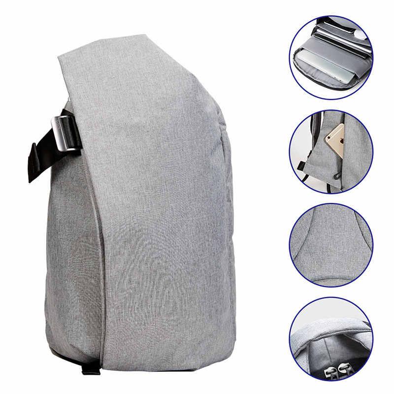 KALIDI su geçirmez Laptop sırt çantaları erkekler büyük kapasiteli rahat okul sırt çantası 17 inç öğrenci seyahat çantaları moda sırt çantası