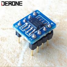 1 peça opa1612 duplo op amp para dac fone de ouvido amplificador opa1612aid remendo para pino