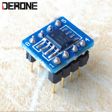 1 piece opa1612 Double op amp for dac headphone amplifier OPA1612AID patch to pin