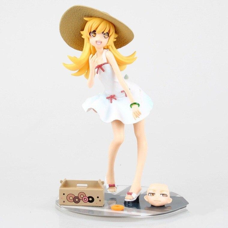 Toys & Hobbies 12 Cm Japan Anime Figure Bakemonogatari Monstory Oshino Shinobu Action Figure Model Toys Beautiful Girl Kwaii Figure Toys