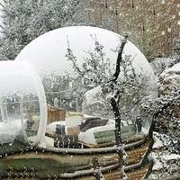 Montre paysage Transparent gonflable pelouse tente de bulle, bulle matériel de camping gonflable tente de plage, Tente de mariage Gonflable