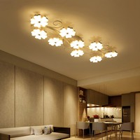 Plum blossom Creative modern led ceiling lights for living room bedroom Indoor acrylic Ceiling lamp fixtures lighting plafonnier