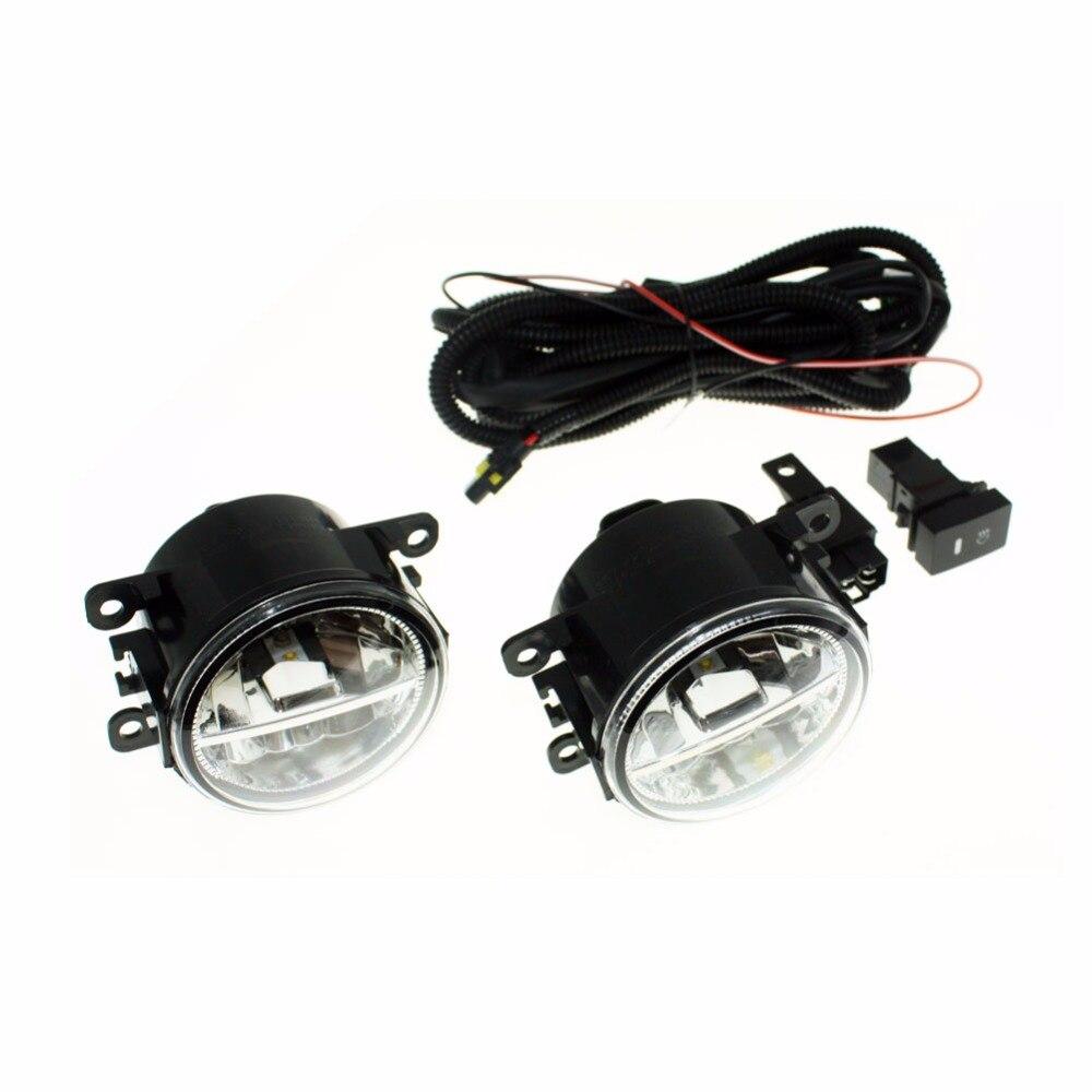 Для Holden Commodore седан (vz) h11 Жгуты проводки розетки Провода разъем переключатель + 2 Противотуманные фары DRL переднего бампера светодиодные ламп...