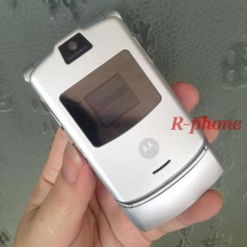 Motorola V3 2G GSM Unlocked Original RAZR V3 Mobile Phone 1