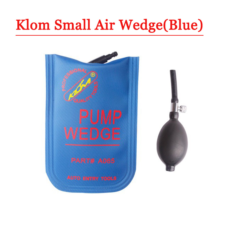 Big discount  Klom Small Size Airbag  wedge tool With Blue Colour (1piece) gardening tool small rake black cream colored