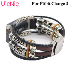 Vintage bracelet For Fitbit Charge 3 frontier/classic wristband replacement wrist bracelet for Fitbit Charge 3 smart watch strap все цены