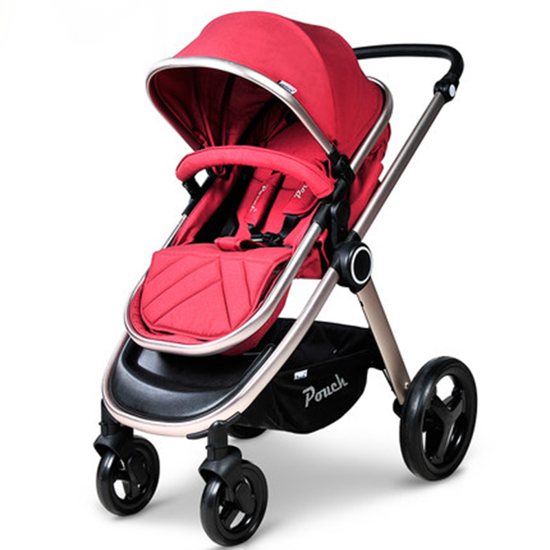 Pouch Baby Stroller high landscape song baby car baby cart children can sit and lie four wheel folding portable baby stroller high landscape can sit and lie trolley high quality folding baby cart children s pram