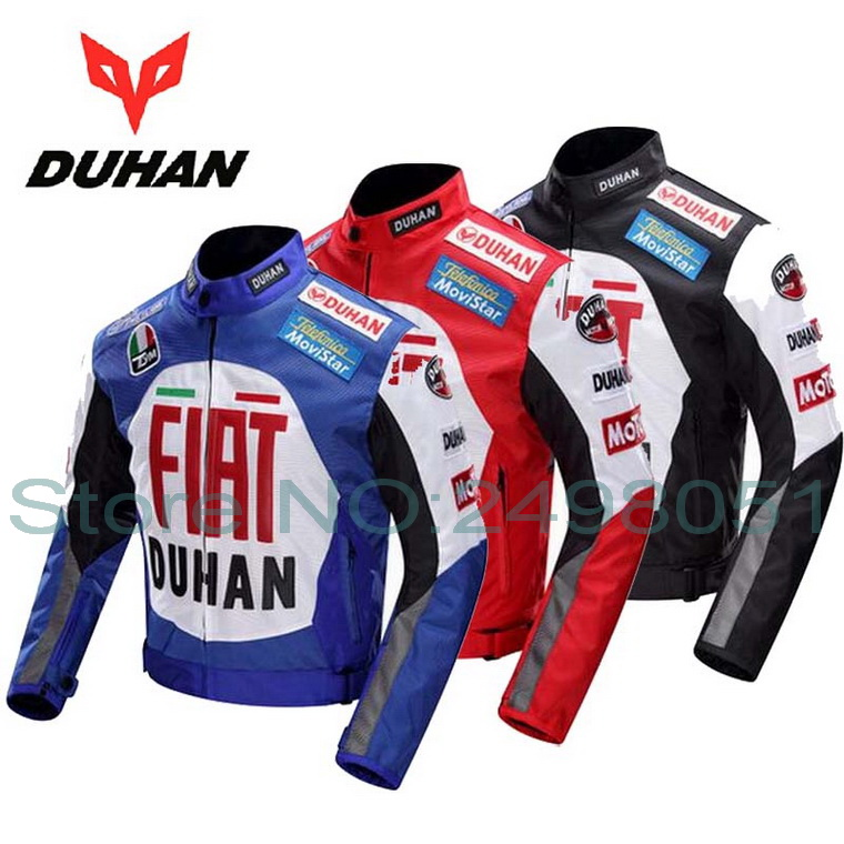 DUHAN cross-country motorcycle jacket professional Moto racing suits jackets motorbike riding clothes made of 600D Oxford