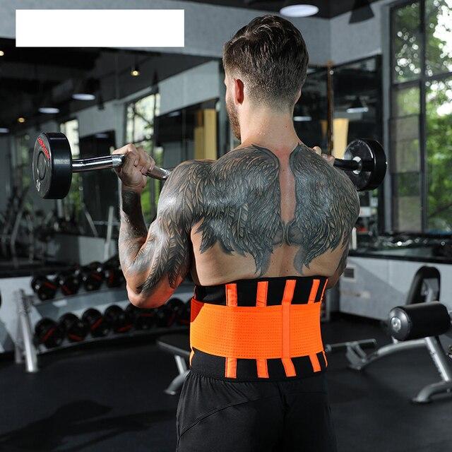 Men And Women Waist Support Belt Neoprene Plus Size Slimming Sweat Belt Women Waist Support Back Support Fitness Waist Trimmer 2