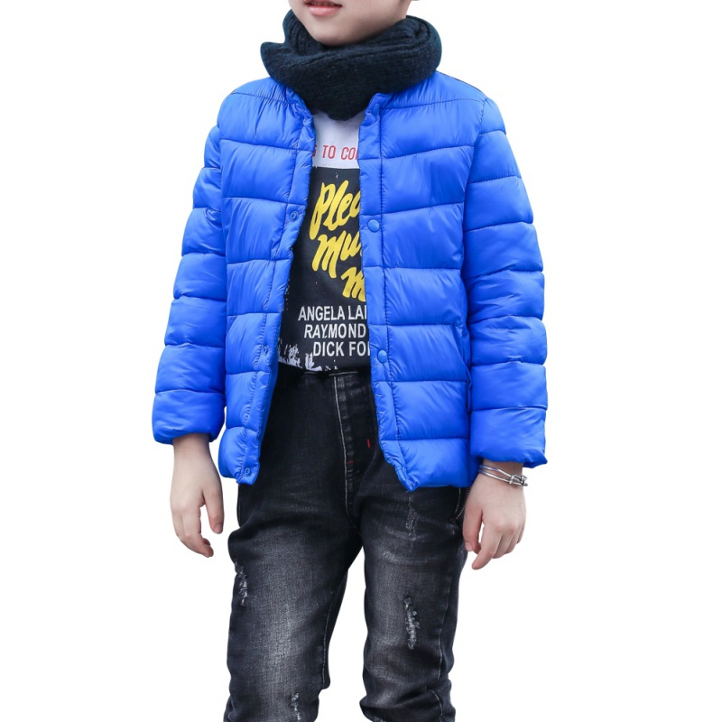 Baby Girls Boys Kids Down Jacket 90% Duck Down Coat Spring Autumn Winter Warm For 1-6Y  Children Clothes Cap And Pocket children winter warm jacket baby down coat outerwear boys girls 90